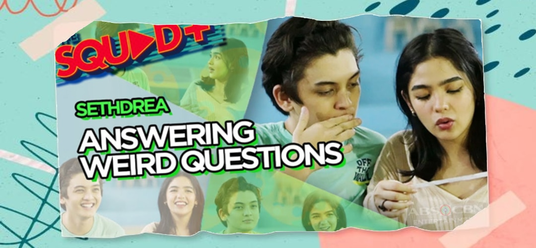 WATCH: Answering Weird Questions with Seth and Andrea   The Squad+