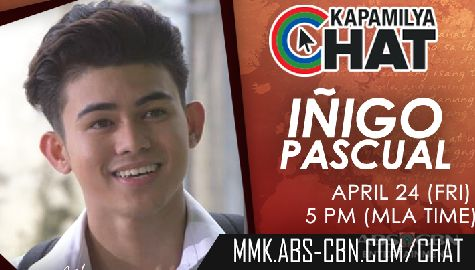 Kapamilya Chat with Iñigo Pascual for MMK Image Thumbnail