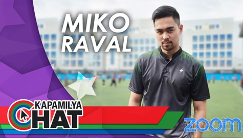 Kapamilya Chat with Miko Raval for Steeze via Zoom	 Image Thumbnail