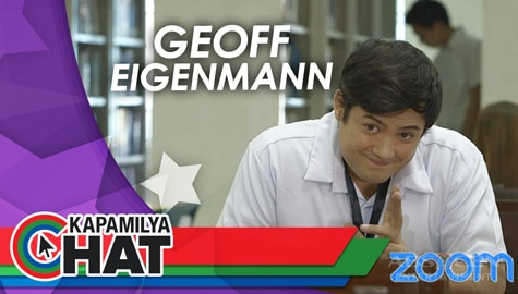 Kapamilya Chat with Geoff Eigenmann for MMK School Girls via Zoom Image Thumbnail