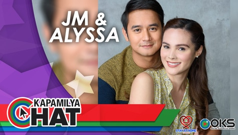 "Kapamilya Chat with JM de Guzman and Alyssa Muhlach for Stay At Home Stories: ""Tol"""