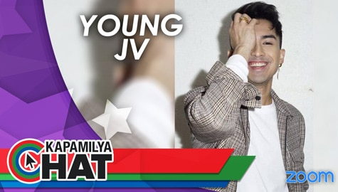 "Kapamilya Chat with Young JV for ""Not So Famous PH"""