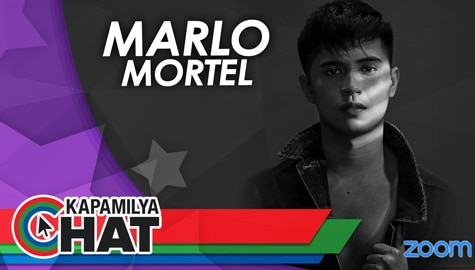 "Kapamilya Chat with Marlo Mortel for his new single ""Bones"""
