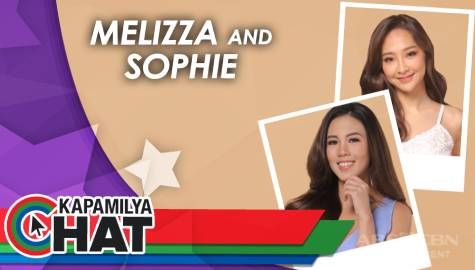 Kapamilya Chat with Melizza and Sophie for Star Magic