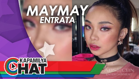 "Kapamilya Chat with Maymay for her new single ""I Love You 2"""
