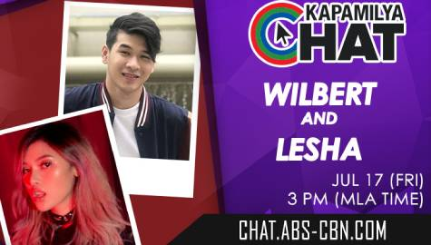 Kapamilya Chat with Wilbert and Lesha for their New Single: Kung Siya Man & Ciao, Bella