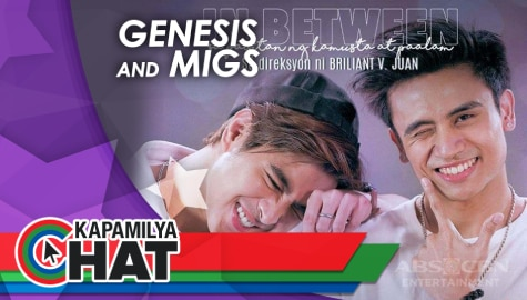 "Kapamilya Chat with Genesis Redido and Migs Villasis for ""In Between The Series"""