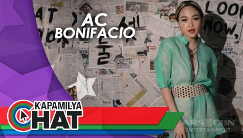 Kapamilya Chat with AC Bonifacio for Star Magic