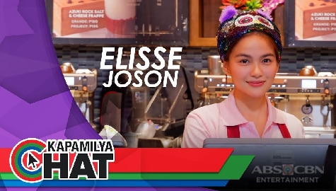 "Kapamilya Chat with Elisse Joson for MMK ""My Handsome Boss"""