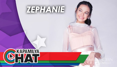 "Kapamilya Chat with Zephanie for her new single ""Sabihin mo na lang kasi"""