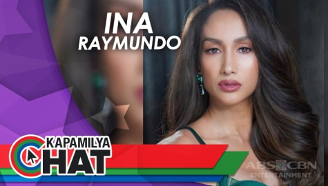 "Kapamilya Chat with Ina Raymundo for MMK ""Lipstick"""