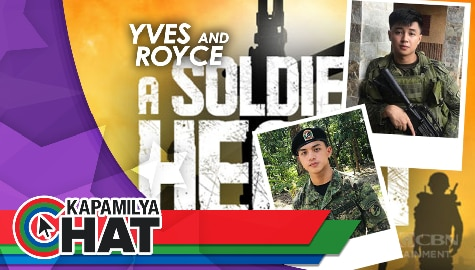 Kapamilya Chat with Yves Flores and Royce Cabrera for 'A Soldier's Heart Finale'
