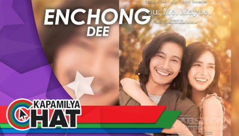 "Kapamilya Chat with Enchong Dee for ""You. Me. Maybe"""