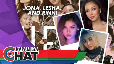"Kapamilya Chat with Jona, Lesha, and Rinni for ""The Heal Project"""