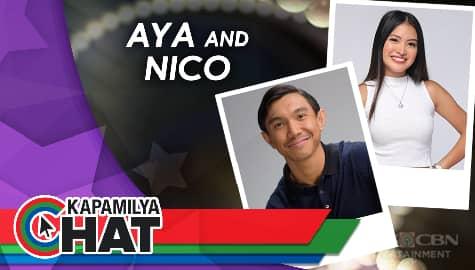"""Kapamilya Chat with Aya Fernandez and Nico Antonio for """"Ang Sa Iyo Ay Akin"""""""