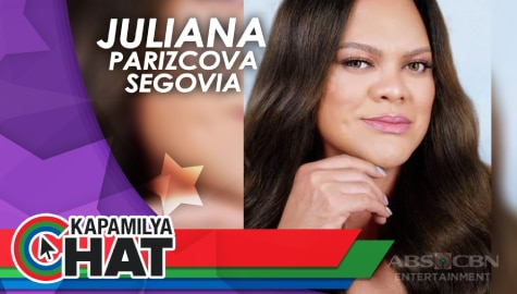 Kapamilya Chat wit Juliana Parizcova Segovia for MMK