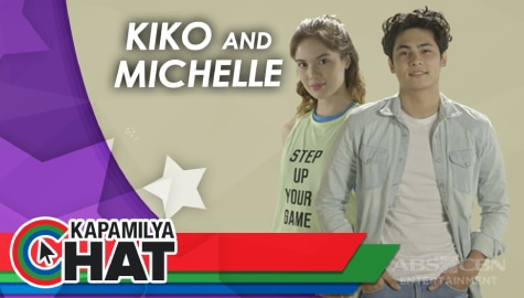 Kapamilya Chat with Kiko Estrada and Michelle Vito for Bagong Umaga