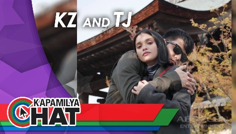 "Kapamilya Chat with KZ and TJ for their new single ""Can't Wait To Say I Do"""