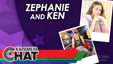 Kapamilya Chat with Zephanie and Ken San Jose for their new single