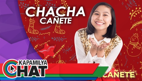 "Kapamilya Chat with Chacha Cañete for her new single ""Pasko Pa Rin"""