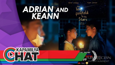 "Kapamilya Chat with Adrian Lindayag and Keann Johnson for ""The Boy Foretold By The Stars"""