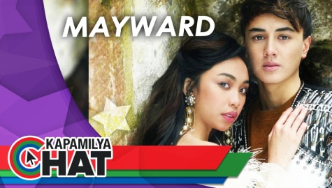 "Kapamilya Chat with MayWard for ""Princess Dayareese"""