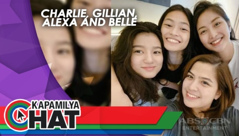"Kapamilya Chat with Charlie, Gillian, Alexa and Belle for ""Four Sisters Before The Wedding"""