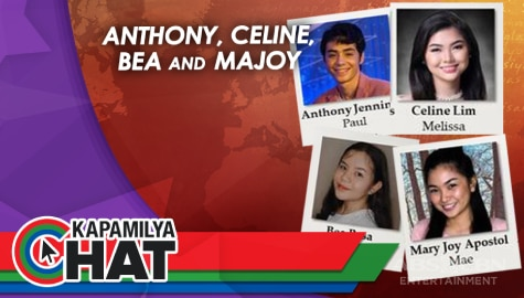 Kapamilya Chat with Anthony, Celine, Bea and Majoy for Maalaala Mo Kaya