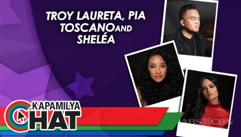 Kapamilya Chat with Troy Laureta, Pia Toscano and Shelea for Star Music