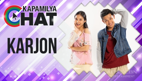 "Kapamilya Chat with KarJon for ""Hoy! Love You!"""