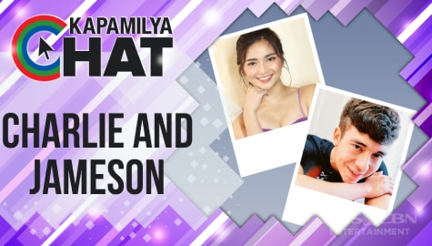 "Kapamilya Chat with Charlie Dizon and Jameson Blake for ""Maalaala Mo Kaya"""