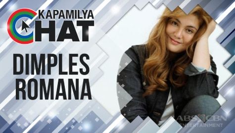 "Kapamilya Chat with Dimples Romana for ""Maalaala Mo Kaya"" and ""Viral"""