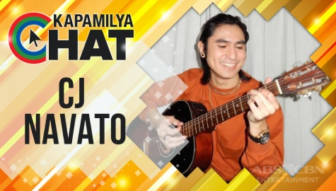 """Kapamilya Chat with CJ Navato for """"Your Face Sounds Familiar"""" and his new single """"Anumang Dulo"""""""