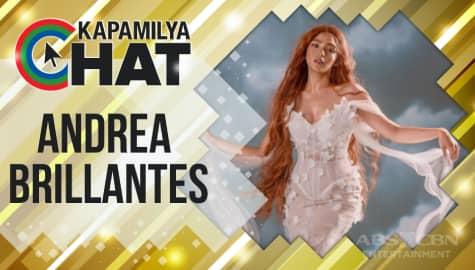 """Kapamilya Chat with Andrea Brillantes for her birthday week and """"Huwag Kang Mangamba"""""""