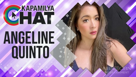"Kapamilya Chat with Angeline Quinto for ""Maalaala Mo Kaya"""