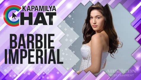 "Kapamilya Chat with Barbie Imperial for ""Bagong Umaga"""