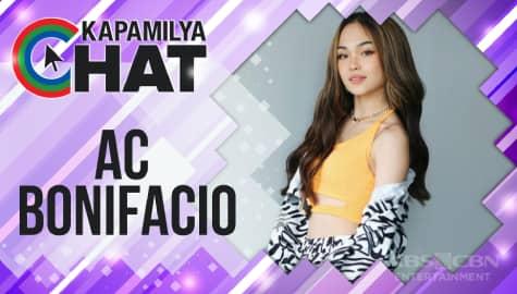 "Kapamilya Chat with AC Bonifacio for ""Almost Paradise"""