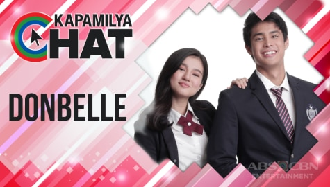 Kapamilya Chat with DonBelle for 'He's Into Her'
