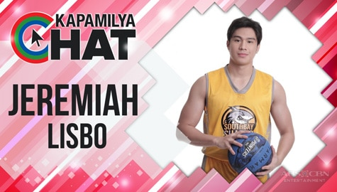 """Kapamilya Chat with Jeremiah Lisbo for """"He's Into Her"""""""