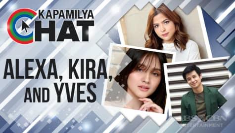 """Alex, Kira and Yves for """"Maalaala Mo Kaya"""""""
