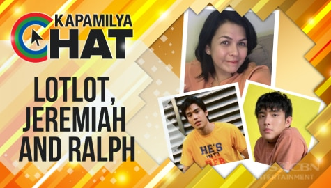 Jeremiah, Lotlot, and Ralph for MMK