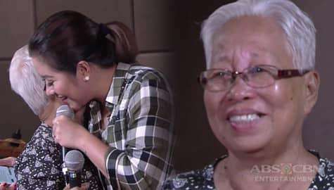Rated K: Angeline Quinto, labis na napaiyak si Lola Fe dahil sa pagtupad niya ng pangarap nito Image Thumbnail
