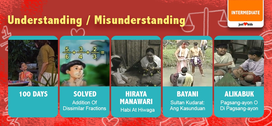 Let's learn to avoid misunderstandings by beginning with understanding.