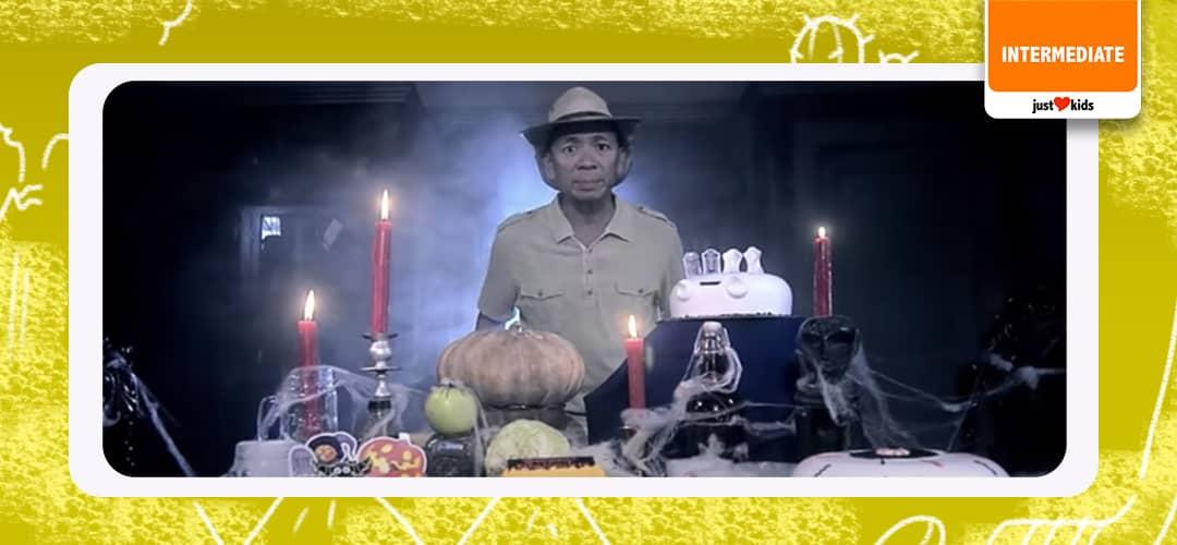 """Saan nga ba nagsimula ang tradition na """"Trick or Treat"""" tuwing Halloween? Ikukuwento ni Kuya Kim sa special episode ng Matanglawin!"""