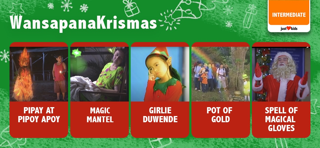 Wansapanataym Christmas episodes full of memorable stories and lessons.
