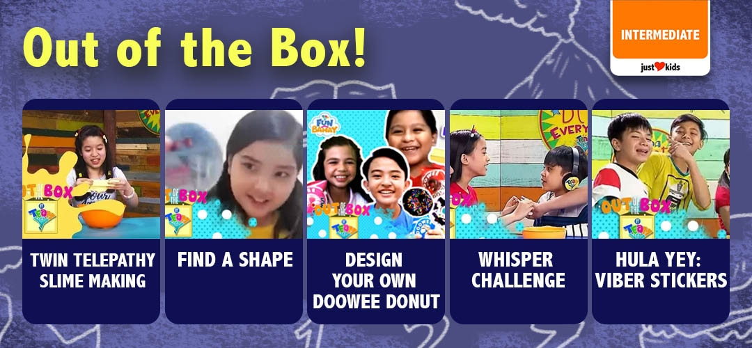 Get out of the box and have some fun with Team YeY barkada!