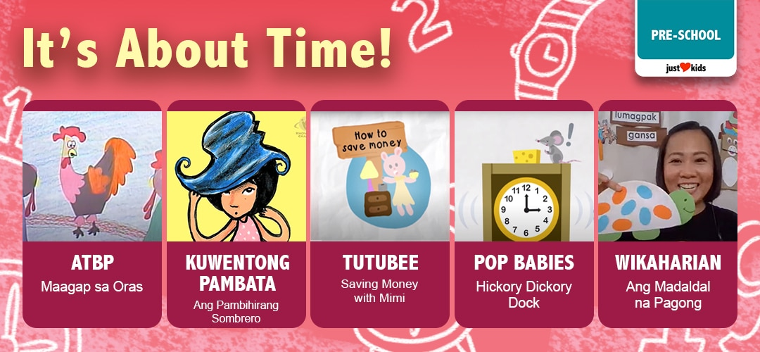 Tik-tok-tik-tok! Now is the time to learn about time!