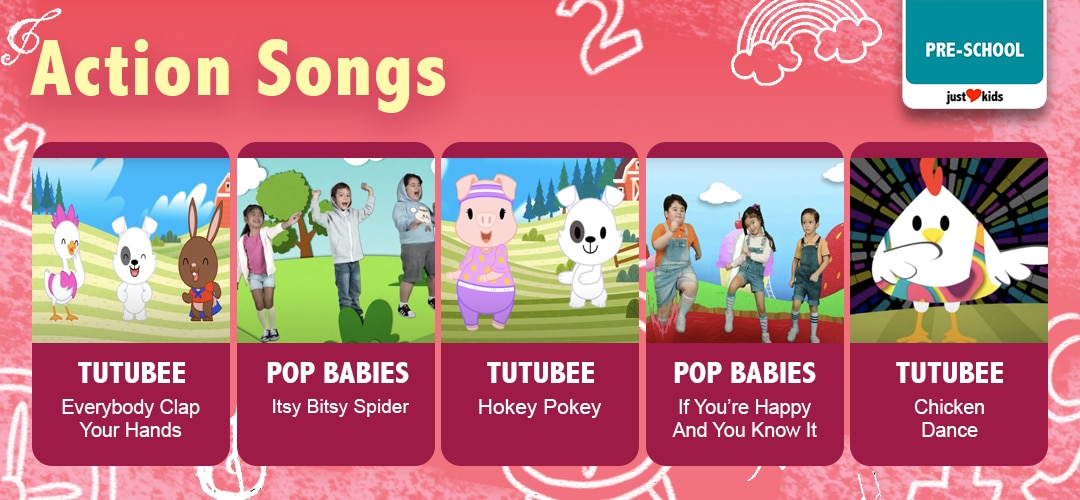 Let's get groovin' and movin' with the best preschool action songs!