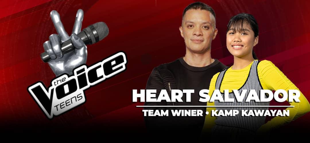 The Voice Teens 2020 Winner: Heart Salvador of Kamp Kawayan