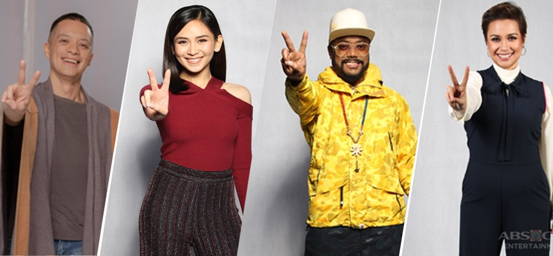 Original Coaches Pictorial for The Voice